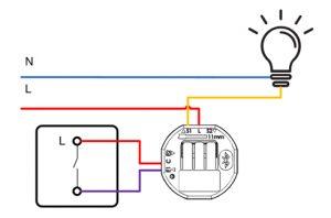 Interrupteur simple d'allumage